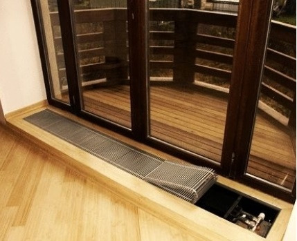 Heating radiator installation options