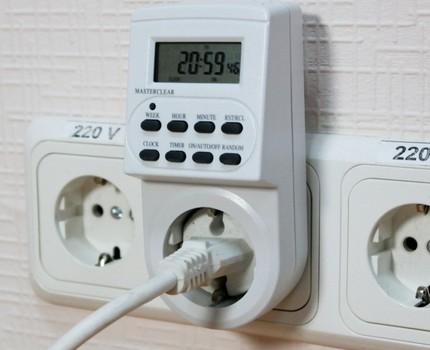 Dual Timer Socket