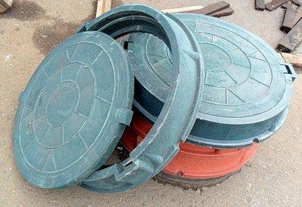 Polymer manhole cover