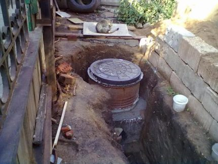 Sewer wells can be made of different materials