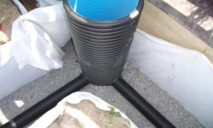 Plastic well bottom
