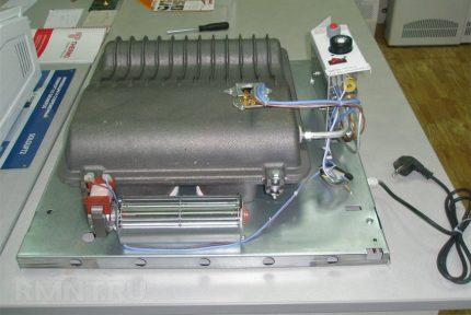 Convecteur avec ventilateur