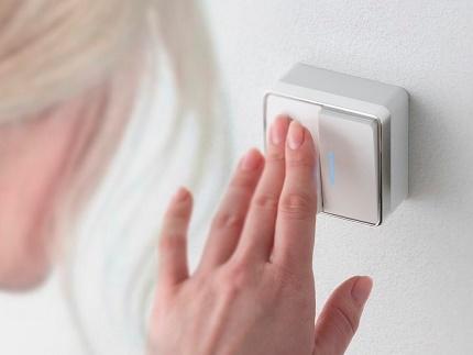 Interrupteur à deux touches pour câblage ouvert