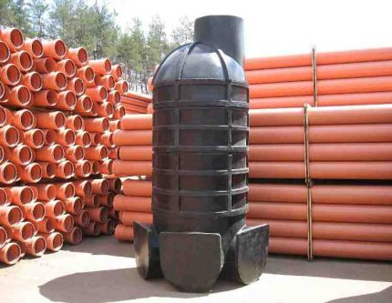 Prefabricated polymer well