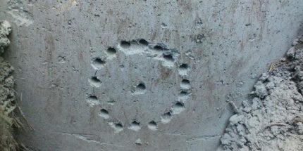 Skylės betoninėje