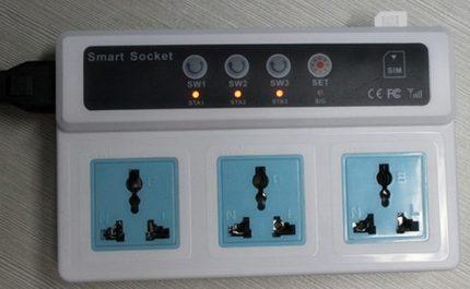 Sorties indépendantes Smart Socket