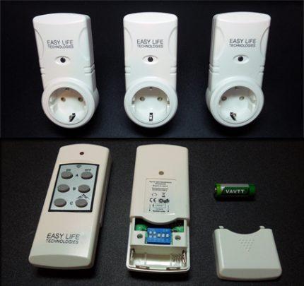 Prise intelligente avec télécommande