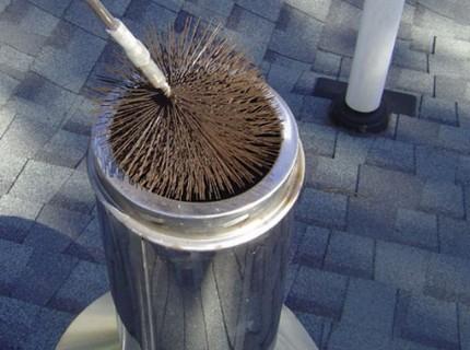 Nettoyage de cheminée