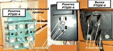 La connexion du téléphone pour créer une connexion fixe s'effectue via la prise fournie avec la fiche