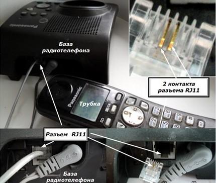 Instrument avec connecteur RJ-11