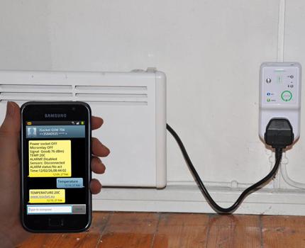 Régulateurs de température contrôlés par téléphone