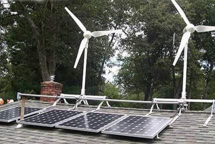 Solar Power and Windmills