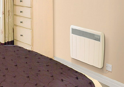 Electric heating in a private house