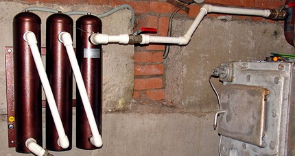 Electric heating of a private house