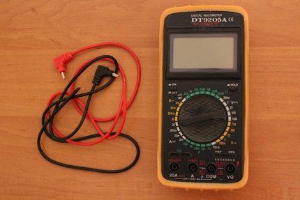 Testeur électrique conventionnel