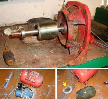 Pump station repair