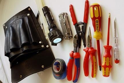 Trousse d'outils pour électricien