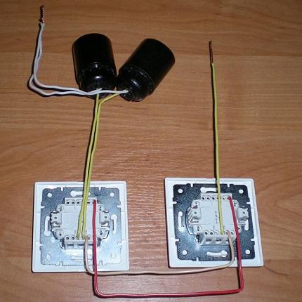Schéma de câblage d'un coffret disjoncteur