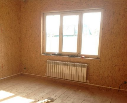 Leningradka heating system in a private house
