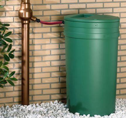 Rainwater storage barrel