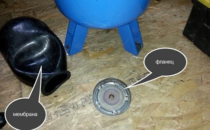 Accumulator repair