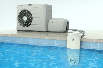 Where to install a pool heat pump