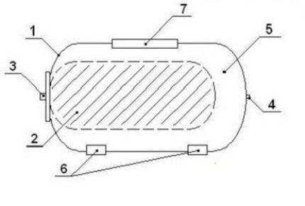 Hydraulic tank components