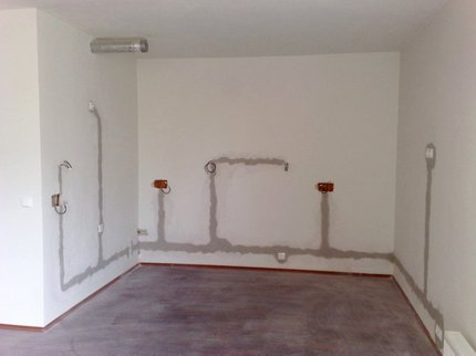 Remplacement du câblage dans la pièce