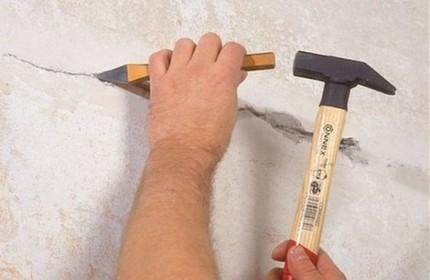 Couper une partie du sol