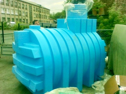 Small plastic construction