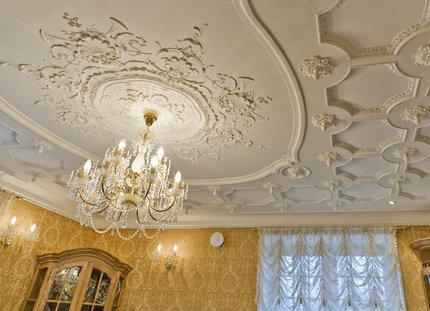 Composition du plafond de sortie
