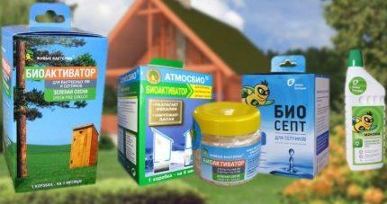 Bioactivators for summer cottages