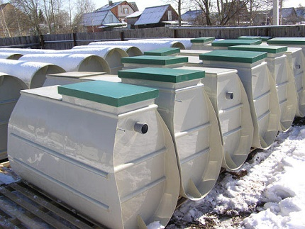 Modifications of a septic tank Tver for a summer residence