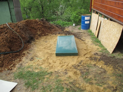 How to install a septic tank Tver without using equipment