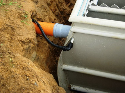 Installation of a septic tank Tver