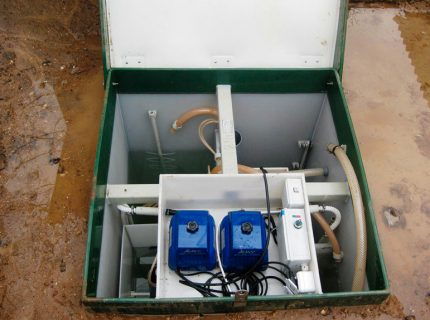 Compressors septic tank Topas