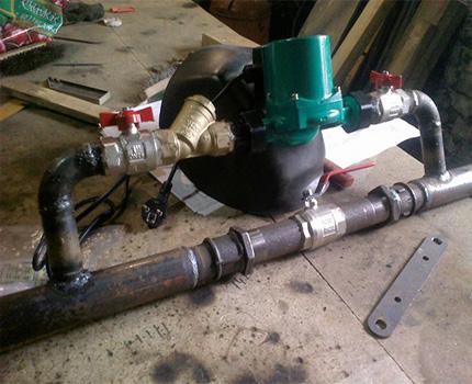 Bypass circulation pump