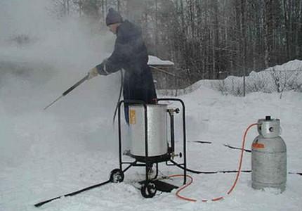 Steam generator - professional equipment