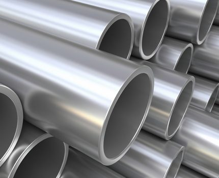 Steel pipes for steam heating