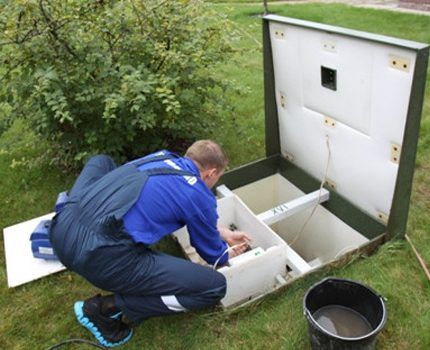 septic tank service by specialists