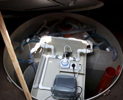 Notekūdeņu attīrīšanas iekārtas