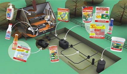 Bioaktyvatoriaus parinkimo sąlygos