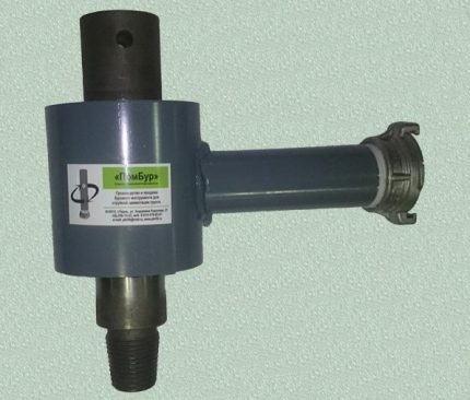 Swivel for drilling rig