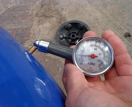 Pressure gauge measurement