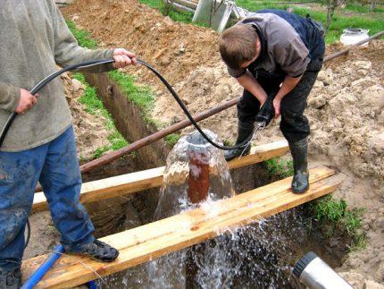 Hydrodrilling of soil