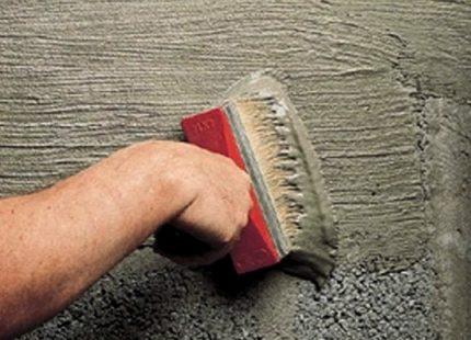 Penetrating waterproofing concrete