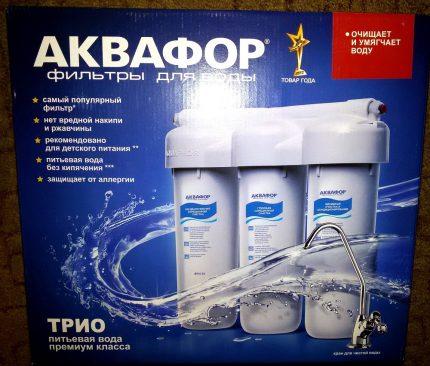 L'un des meilleurs filtres pour une eau propre