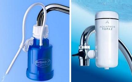 Positions en tête du classement des filtres de purification d'eau