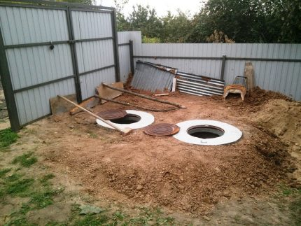 Sewerage in the country