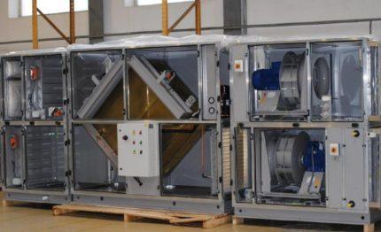 Complex for ventilation